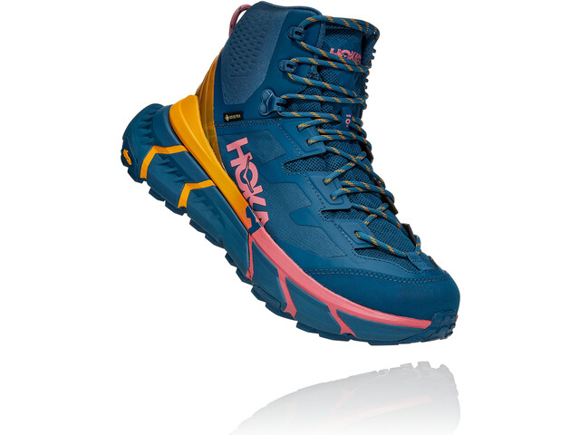 Hoka One One Tennine Hike GTX Shoes Men, moroccan blue/saffron
